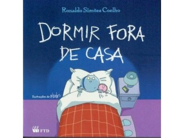 Livro dormir fora de casa