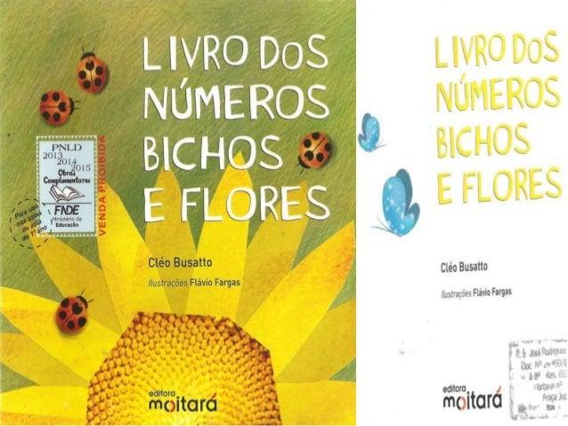 Livro dos numeros bichos e flores