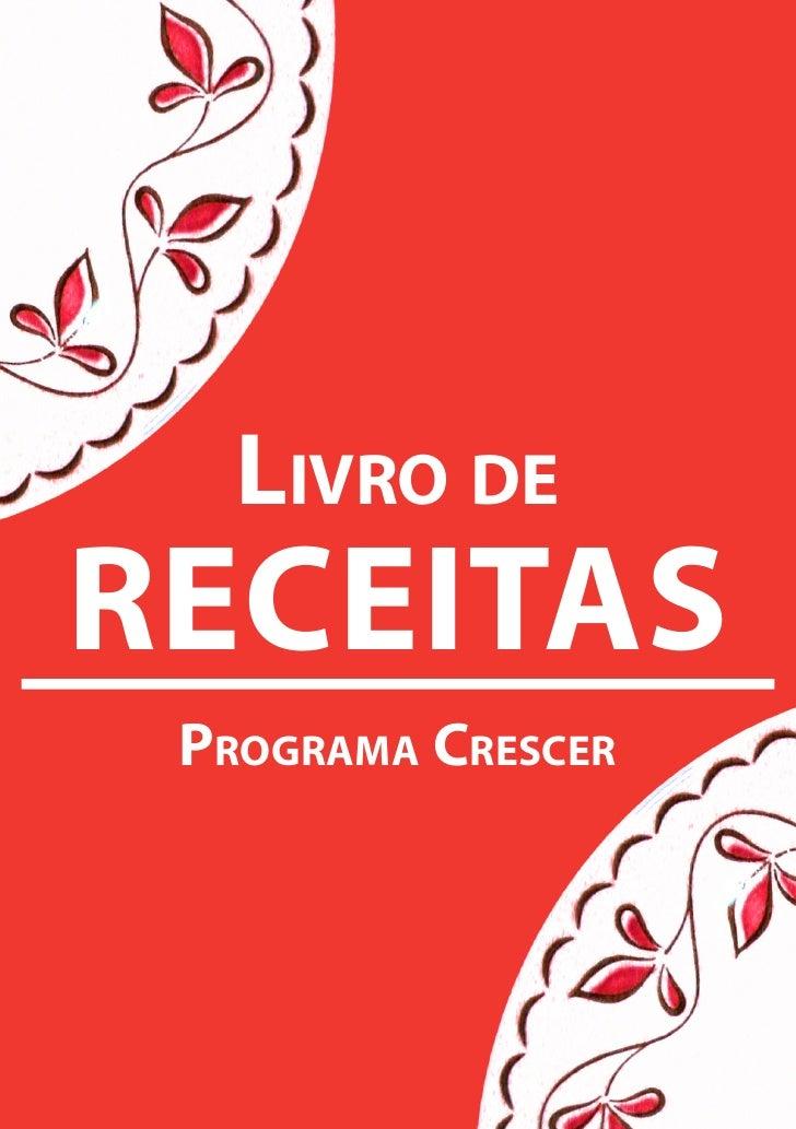 Livro deRECEITAS Programa CresCer        1