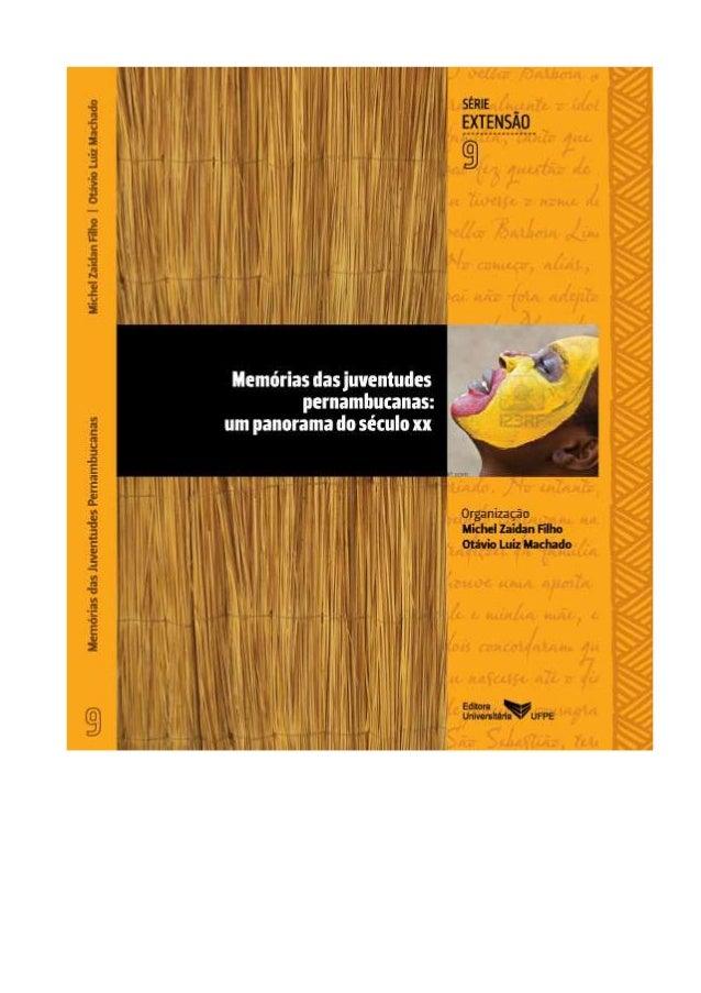 Livro memórias das juventudes pernambucanas pdf
