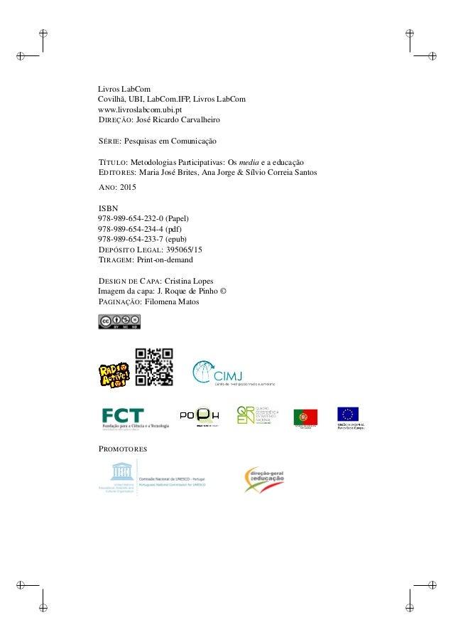 Livro metodologias participativas os media e a educao fandeluxe Gallery