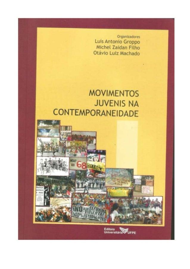 Livro movimentos juvenis na contemporaneidade pdf