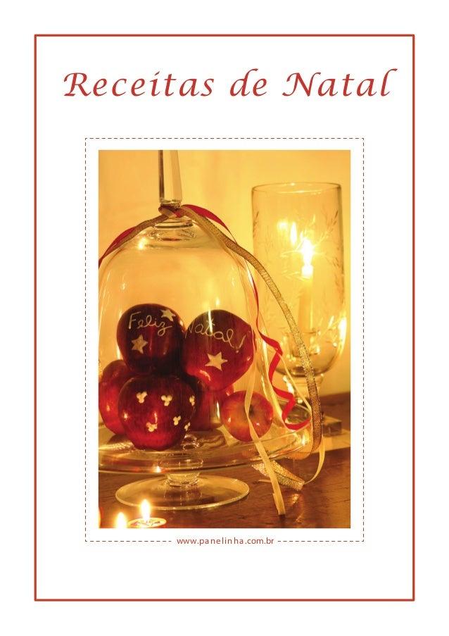www.panelinha.com.br Receitas de Natal