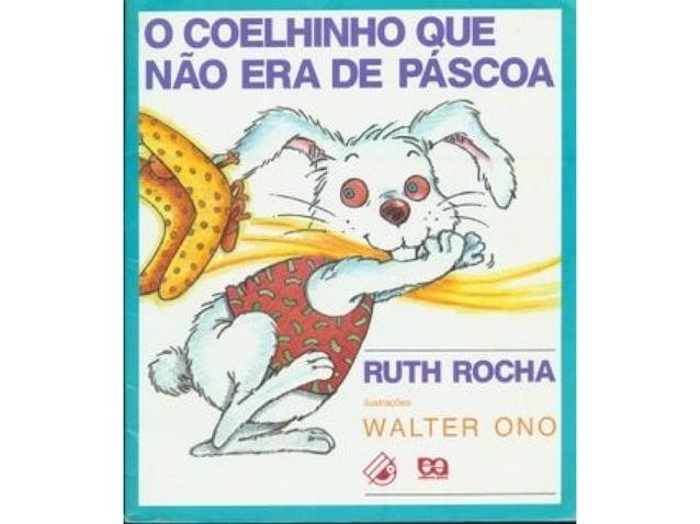 Livro O coelhinho que não era  da Páscoa