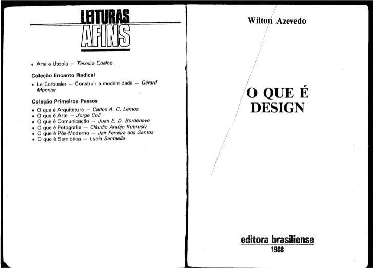 Livro o que_é_design