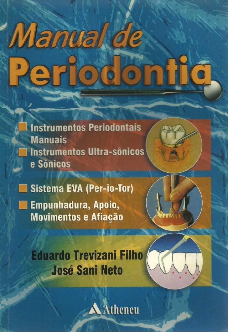 Livro:Manual de Periodontia  - odontostation@gmail.com
