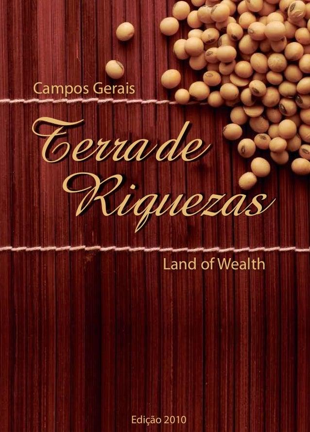 Livro terra de riquezas primeira edicao campos gerais land of wealth terrade riquezas edio 2010 fandeluxe Image collections