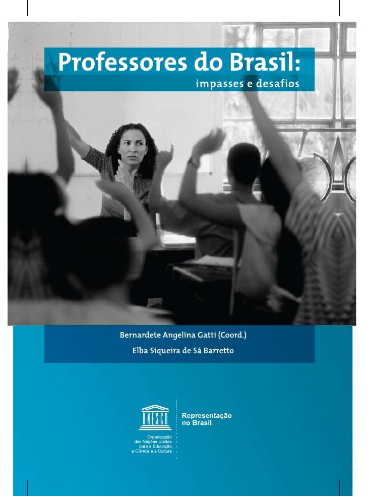 Livro professores do brasil impasses e desafios