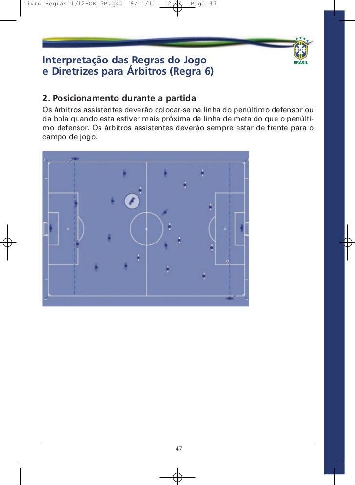 9e217f425e671 Livro de Regras 2012 - Futebol