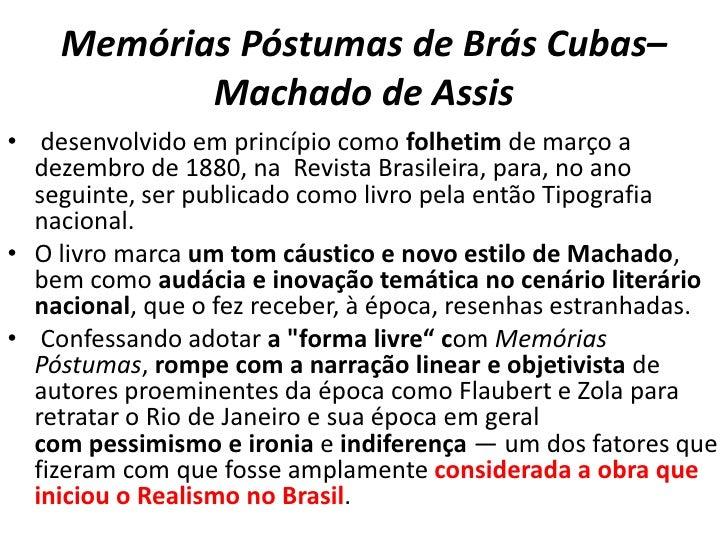 Livros Fuvest 2013apresentação Memórias Póstumas De Brás Cubas