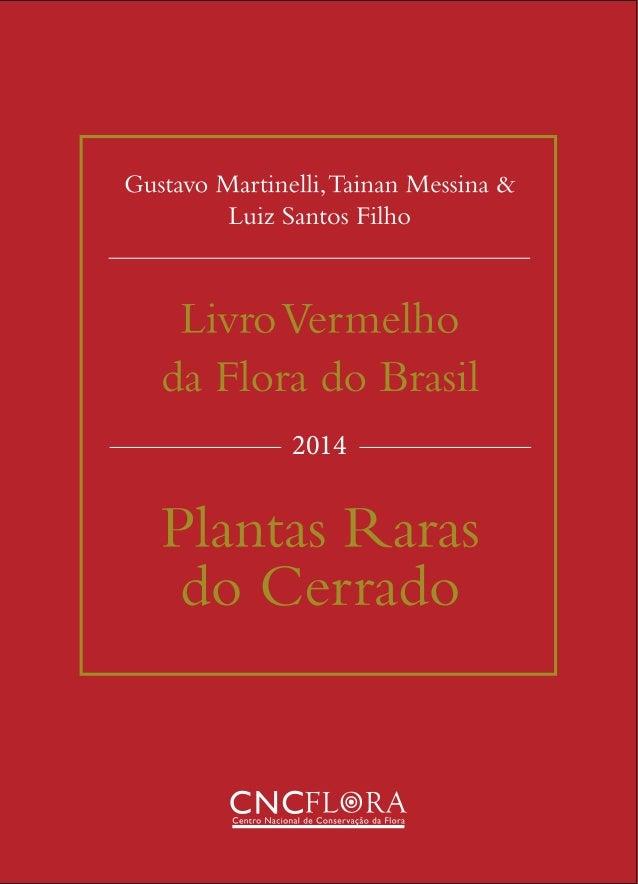 2014 Capa livro vermelho do cerrado_final.indd 1 08/12/14 13:52