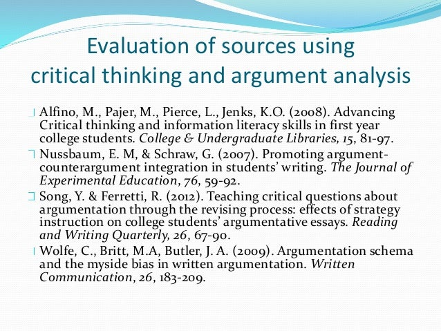 As Critical Thinking Argument Elements - image 3