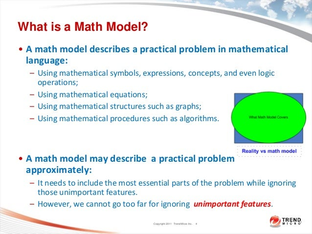 Mathematical Modeling For Practical Problems