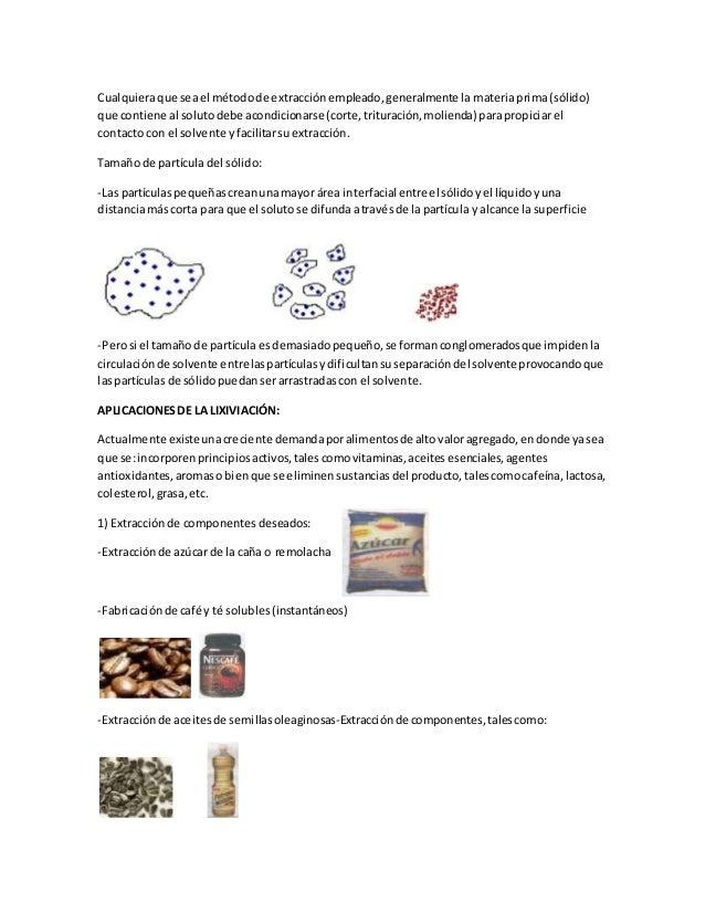 Lixiviacion aceite de linaza - Aceite de linaza ...