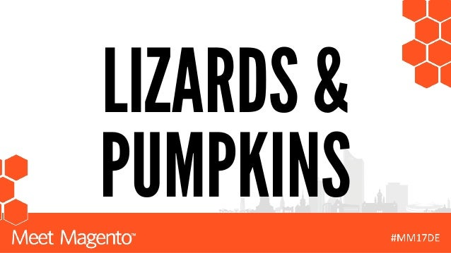 LIZARDS & PUMPKINS