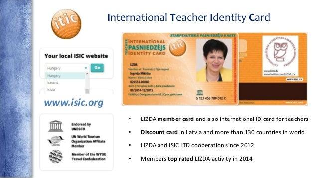 teachers id card
