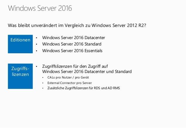 windows server 2016 lizenz