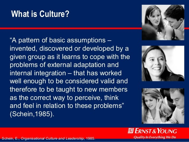cope with its problems of external adaptation and internal integration The role of the founder in creating organizationa culturl e for coping with its exter-nal problems of external adaptation and internal integration.