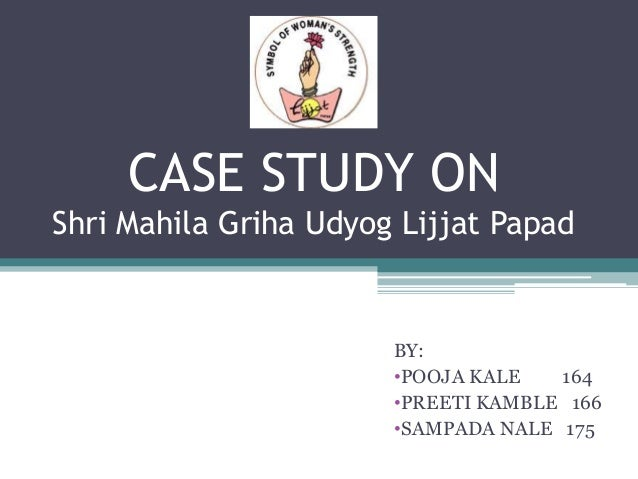 Lijjat papad case study pdf