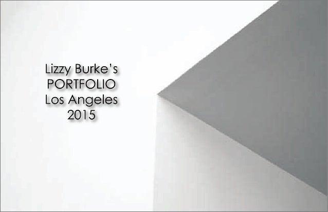 Lizzy Burke Portfolio Part 1