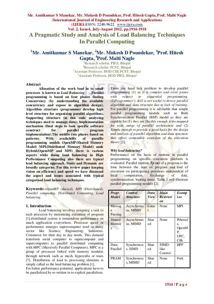 Mr. Amitkumar S Manekar, Mr. Mukesh D Poundekar, Prof. Hitesh Gupta, Prof. Malti Nagle            /International Journal o...