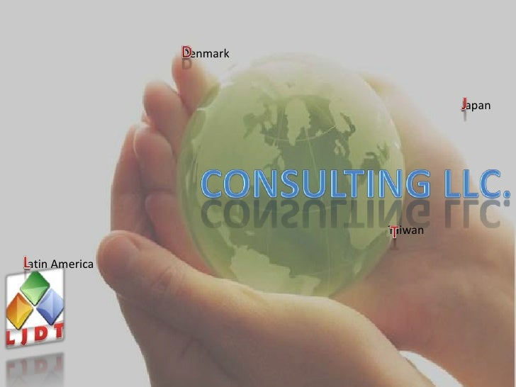 D<br />Denmark<br />J<br />Japan<br />CONSULTING LLC.<br />T<br />Taiwan<br />L<br />Latin America<br />