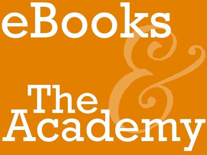 eBooksThe   &Academy