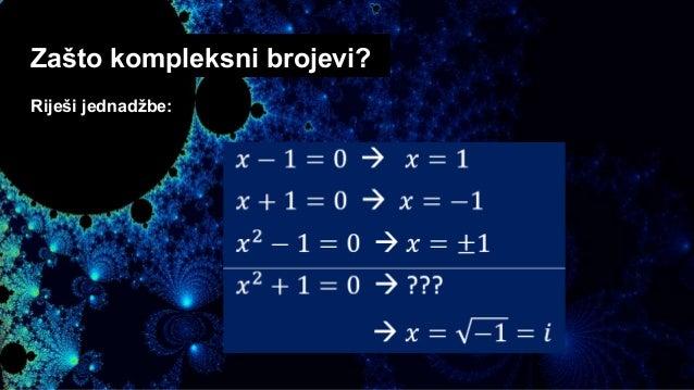 Ljepota kompleksnih brojeva Slide 3