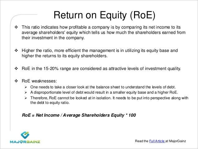 6 Basic Financial Ratios And What They Reveal