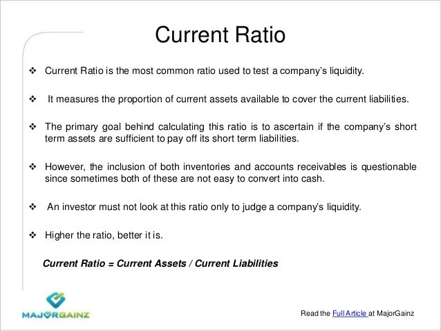 solvency ratios Meaning and definition of solvency ratio  solvency ratio is one of the various ratios used to measure the ability of a company to meet its long term debts moreover, the solvency ratio quantifies the size of a company's after tax income, not counting non-cash depreciation expenses, as contrasted to the total debt obligations of the firm.