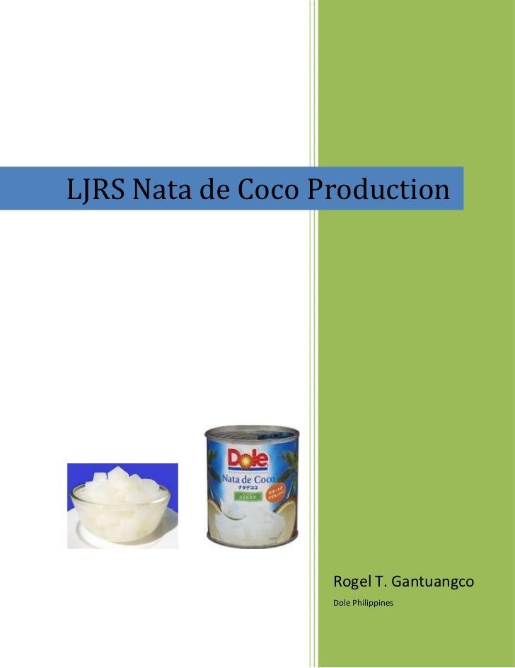 Nata de Coco Management Case