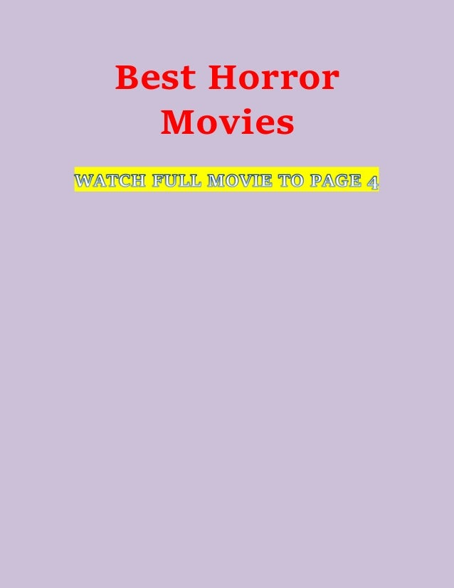 Watch Best Horror Movies On Netflix - List Of Horror Films