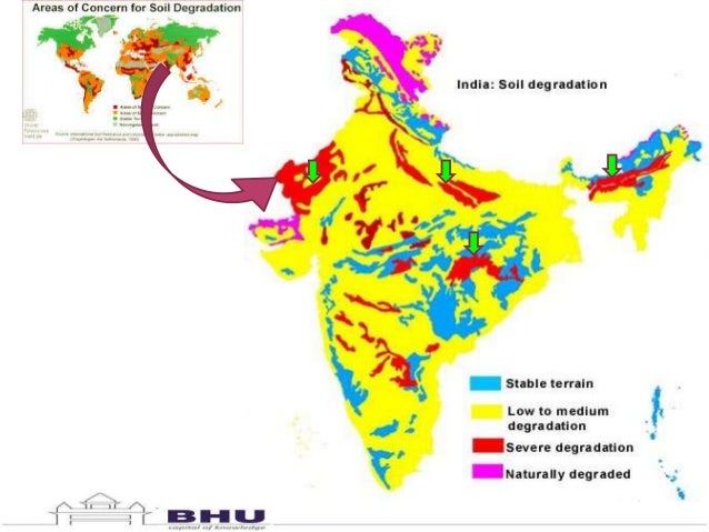 Soil degradation in india challenges and potential solutions for Soil in india