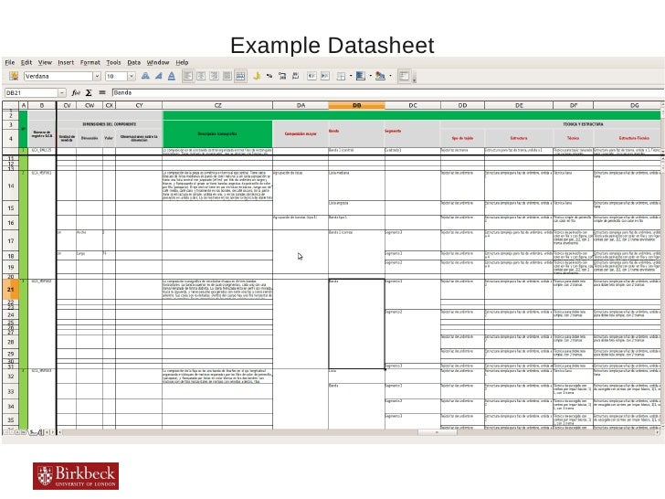 Example Datasheet
