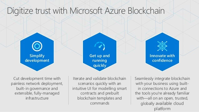 LKMUG - Azure Blockchain for Developers