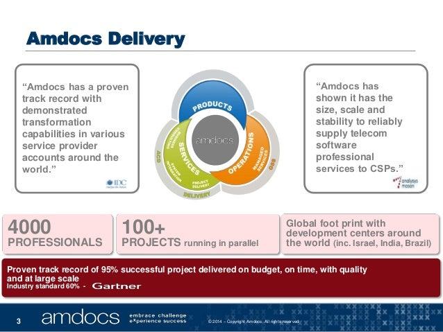 Amdocs Case Study: Massive Kanban Implementation (LKNA14) Slide 3