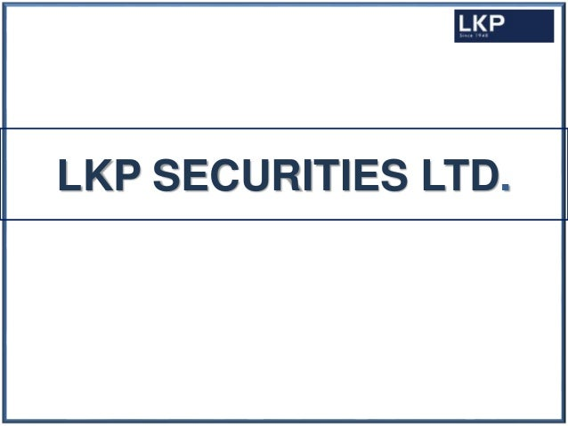 LKP SECURITIES LTD.