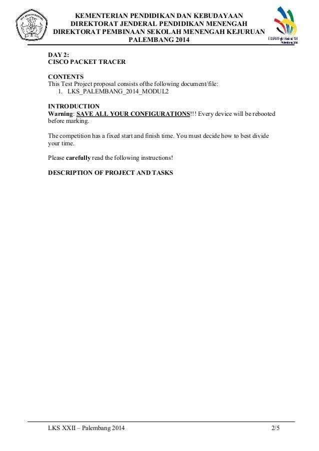 Contoh Soal Lks It Network 2014 Di Palembang Modul 2
