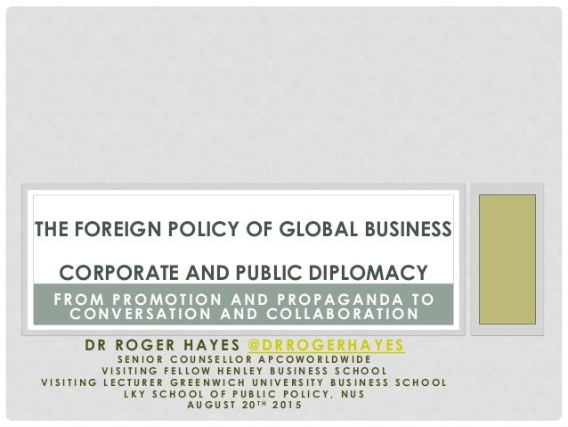 policy of globalization Domestic economy constrain government's policy choice set to an extent that  actual  key words: globalization, trade, domestic policy, deregulation,  competition,.
