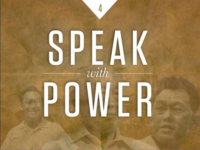 SPEAKwith POWER 4