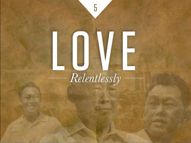 5 LOVERelentlessly
