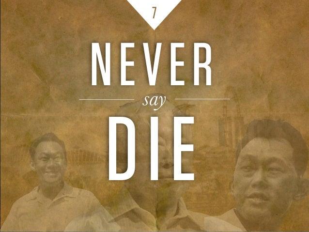 NEVERsay DIE 7