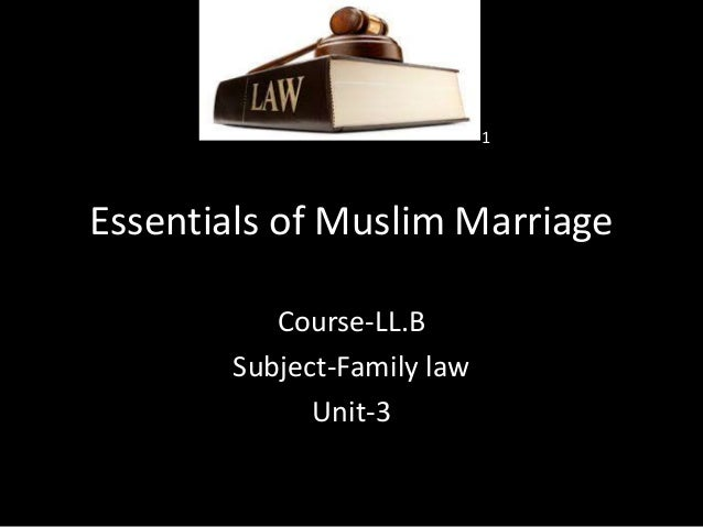 Ll b i fl u 3 essentials of muslim marriages