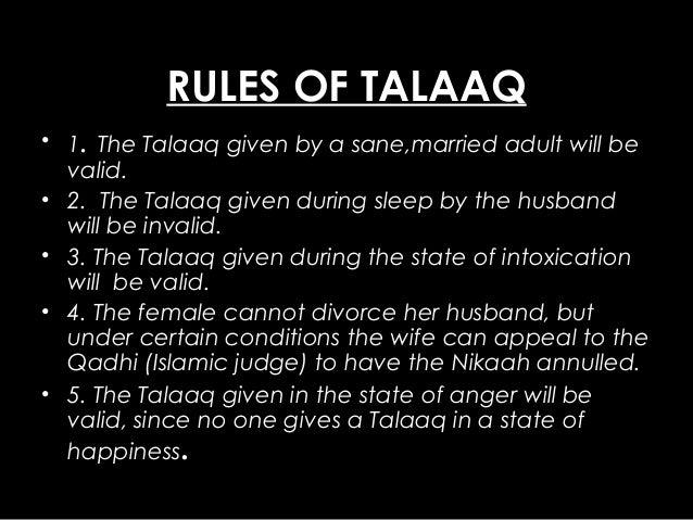 talaq during pregnancy valid