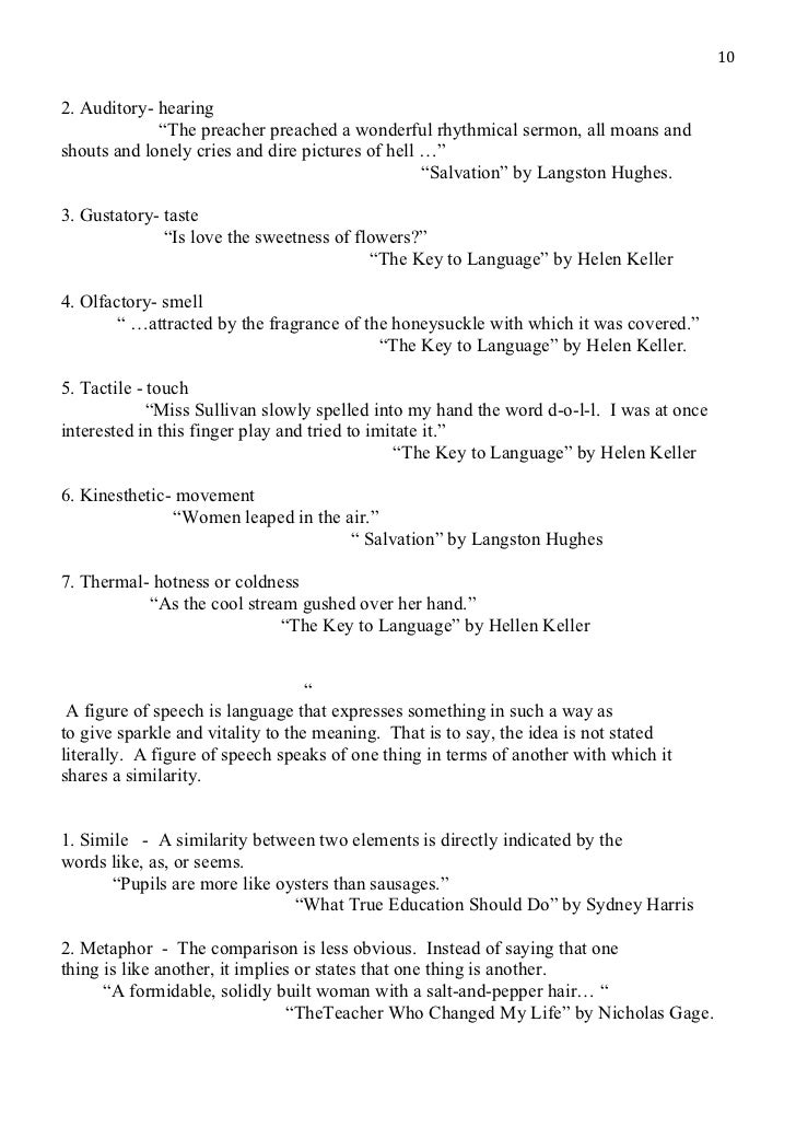 "elements essay  ""salvation"" by langston hughes 10"