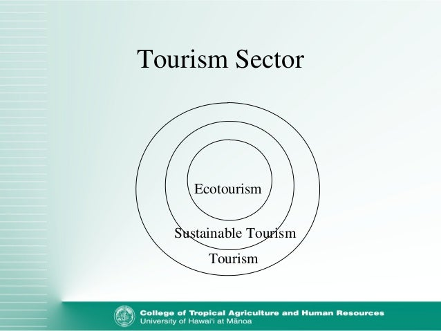 components of sustainable tourism The challenge to make sids tourism more sustainable will involve all these  components in actions which are beneficial to the economy,.
