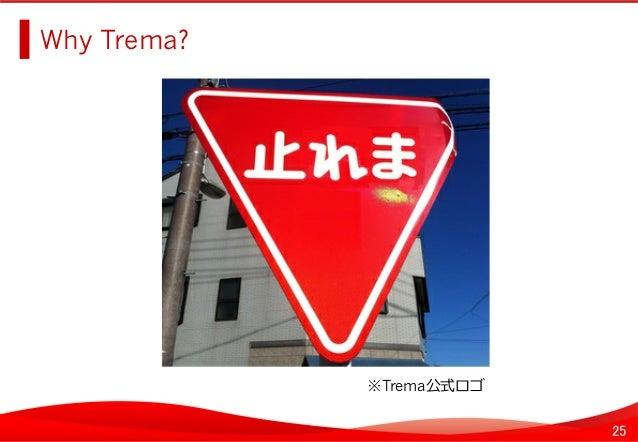 25 Why Trema?   ※Trema公式ロゴ