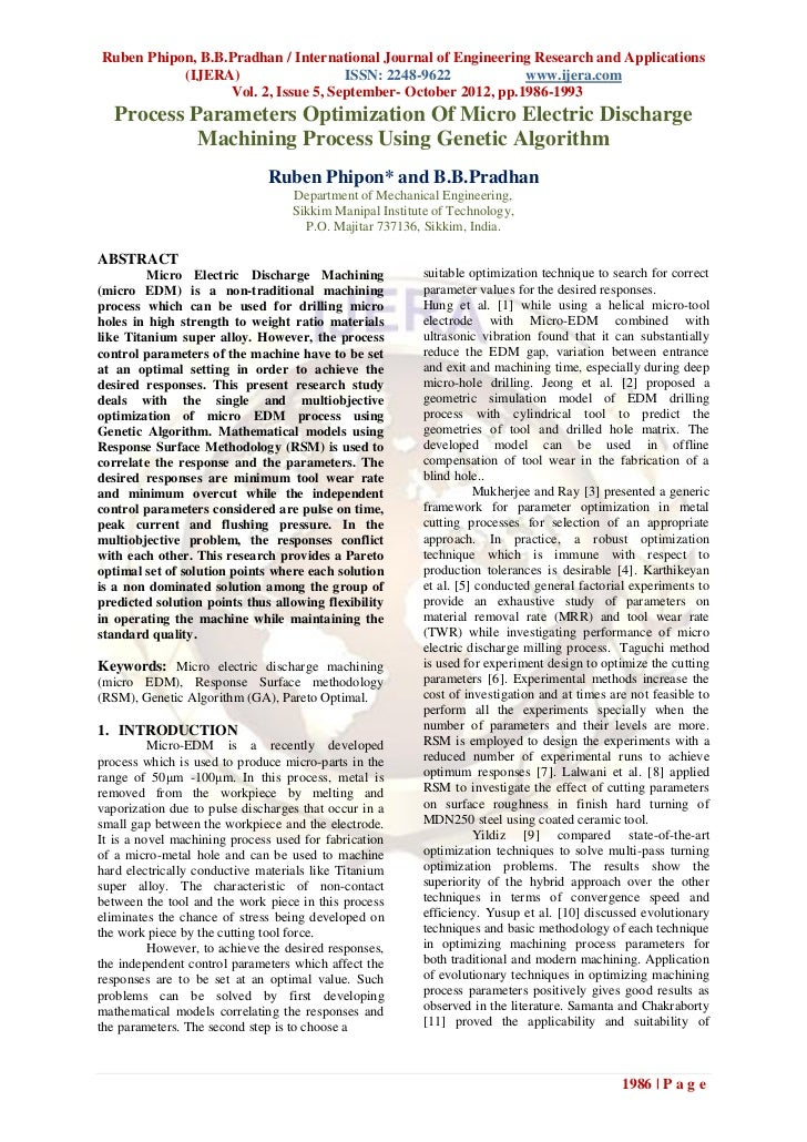 Ruben Phipon, B.B.Pradhan / International Journal of Engineering Research and Applications           (IJERA)              ...