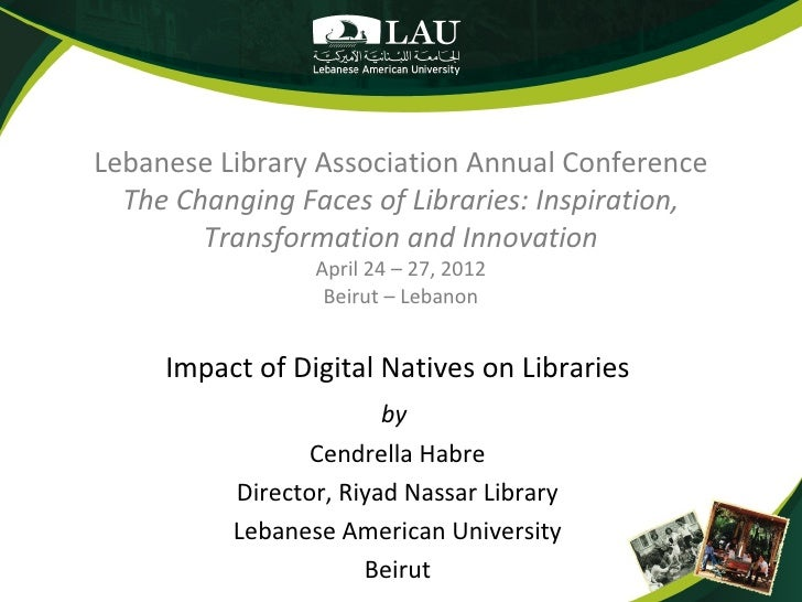 Impact of Digital Natives on Libraries
