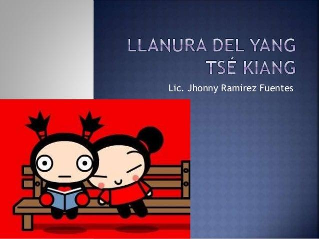 Lic. Jhonny Ramírez Fuentes
